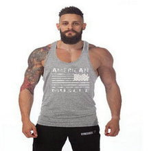 Gyms Tank Top Men Blank Bodybuilding Clothing Stringer Singlets Fitness Men Gyms Shark Sleeveless Vest Cotton Blusa Masculina