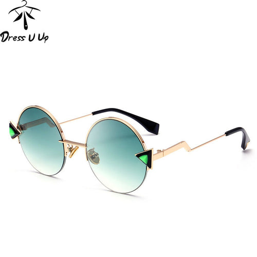 DRESSUUP Arrow Gradient Sunglasses Women Brand Vintage Men Shades UV400 Female Glasses Vintage Oculos De Sol Feminino Gafas