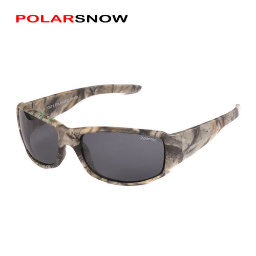 POLARSNOW Camo Frame Sun Glasses Polarized Lens Men New 2017 Driving Sunglasses Oculos Masculino UV400 Gafas De Sol Shades