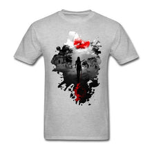Fearless!! Zombie Apocalypse Design Tees Shirt Party Crazy White Short Sleeve Tees Shirt 3XL