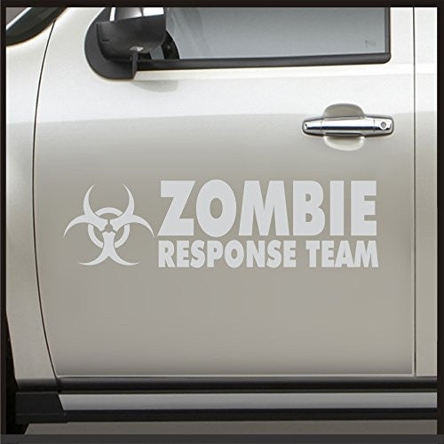 Car Styling 1 Set 2Pcs Zombie Response Team Door Sticker - Sticker for Jeep Decal JDM Vinyl Car apocalypse