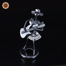 Creative Office Accessories Iron Man Stationery Set Oblique Iron Man Metal Model for Table Christmas Decoration /craft DIY