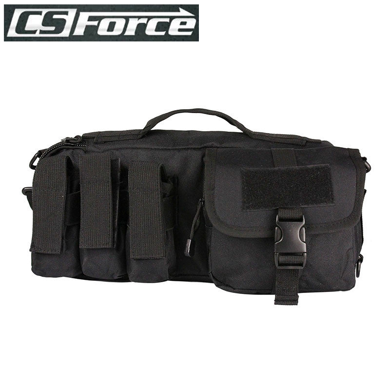 Military Tactical Molle Handgun Pistol Carry Bag Outdoor Hunting Gun Case for 311 Shotgun Rifle Airsoft Pouch Gun Holster Black