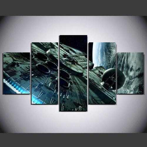Star wars Return of the Jedi movie poster print stretched framed art home decoart printed painting  home canvas decor W0831
