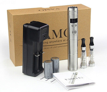 Vamo V5 Starter Ego Kit LCD Display Variable Voltage Battery CE4 Atomizer Clearomizer e cig electronic cigarette