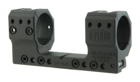 "SPUHR SA-4601 Scope Mount Ø34 H35mm/1.378"" 6MIL AI"