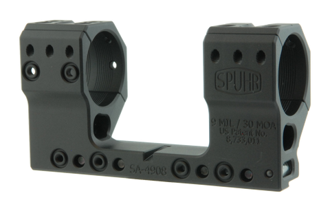 "SPUHR SA-4908 Scope Mount Ø34 H44mm/1.732"" 9MIL AI (NVG)"