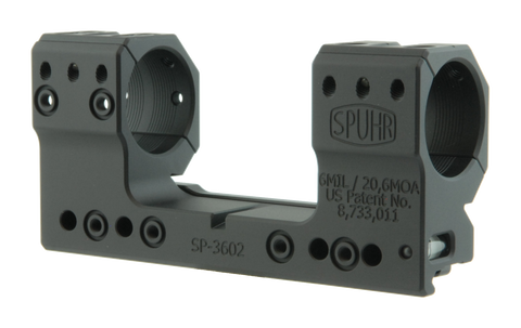 "SPUHR SP-3602 Scope Mount Ø30 H38mm/1.5"" 6MIL PIC"