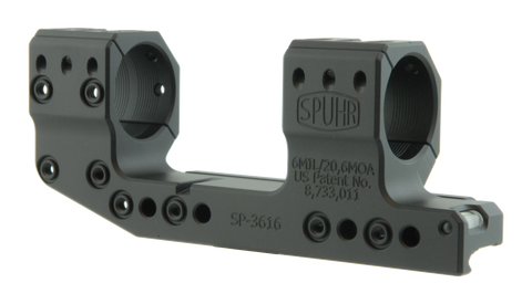 "SPUHR SP-3616 Cantilever Scope Mount Ø30 H38mm/1.5"" 6MIL PIC"