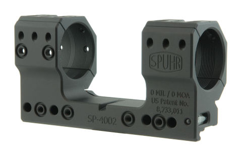 "SPUHR SP-4002 Scope Mount Ø34 H38mm/1.5"" 0MIL PIC"