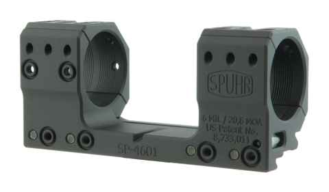 "SPUHR SP-4601 Scope Mount Ø34 H30mm/1.181"" 6MIL PIC"