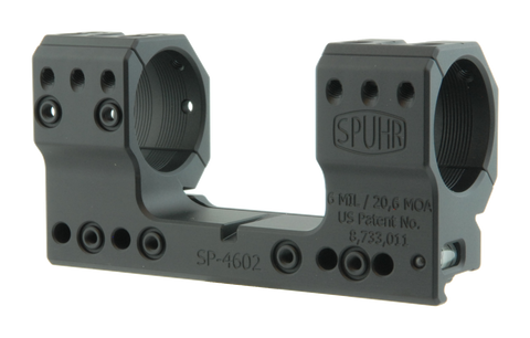 "SPUHR SP-4602 Scope Mount Ø34 H38mm/1.5"" 6MIL PIC"