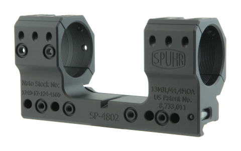 "SPUHR SP-4802 Scope Mount Ø34 H38mm/1.5"" 13MIL PIC"