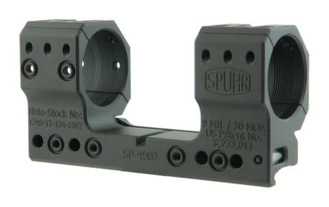 "SPUHR SP-4902 Scope Mount Ø34 H38mm/1.5"" 9MIL PIC"