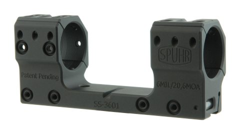 "SPUHR SS-3601 Scope Mount Ø30 H30mm/1.181"" 6MIL Sauer"