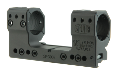 "SPUHR SP-3002 Scope Mount Ø30 H38mm/1.5"" 0MIL PIC"