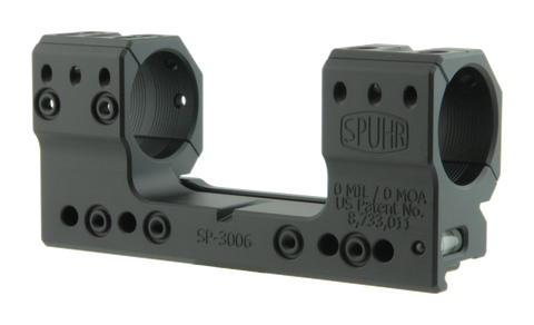 "SPUHR SP-3006 Scope Mount Ø30 H34mm/1.35"" 0MIL PIC"