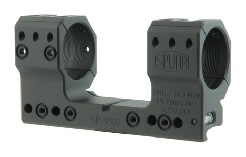 "SPUHR SP-4302 Scope Mount Ø34 H38mm/1.5"" 3MIL PIC"