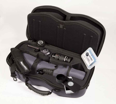 NightForce Kit TS-82 Xtreme Hi-Def Angled with 20-70x eyepiece, Case, Sleeve, Cleaning Kit, Fob Lens Cloth, Grommet Kit