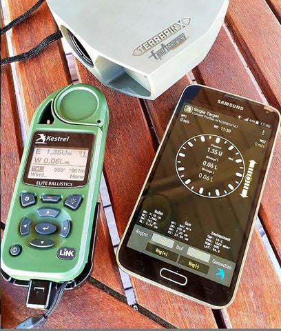 Kestrel 5700 Elite Weather Meter with Applied Ballistics and LiNK BT