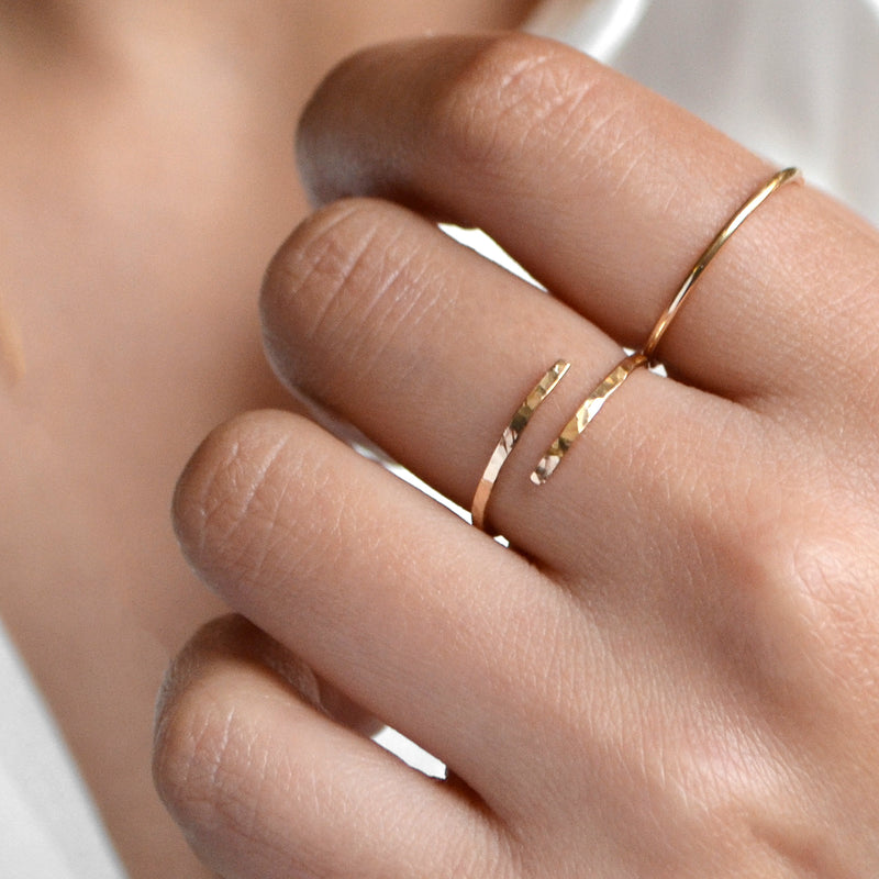 FAITH Dainty Everyday Hug Ring