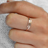 SONYA Personalized Dainty Hug Ring