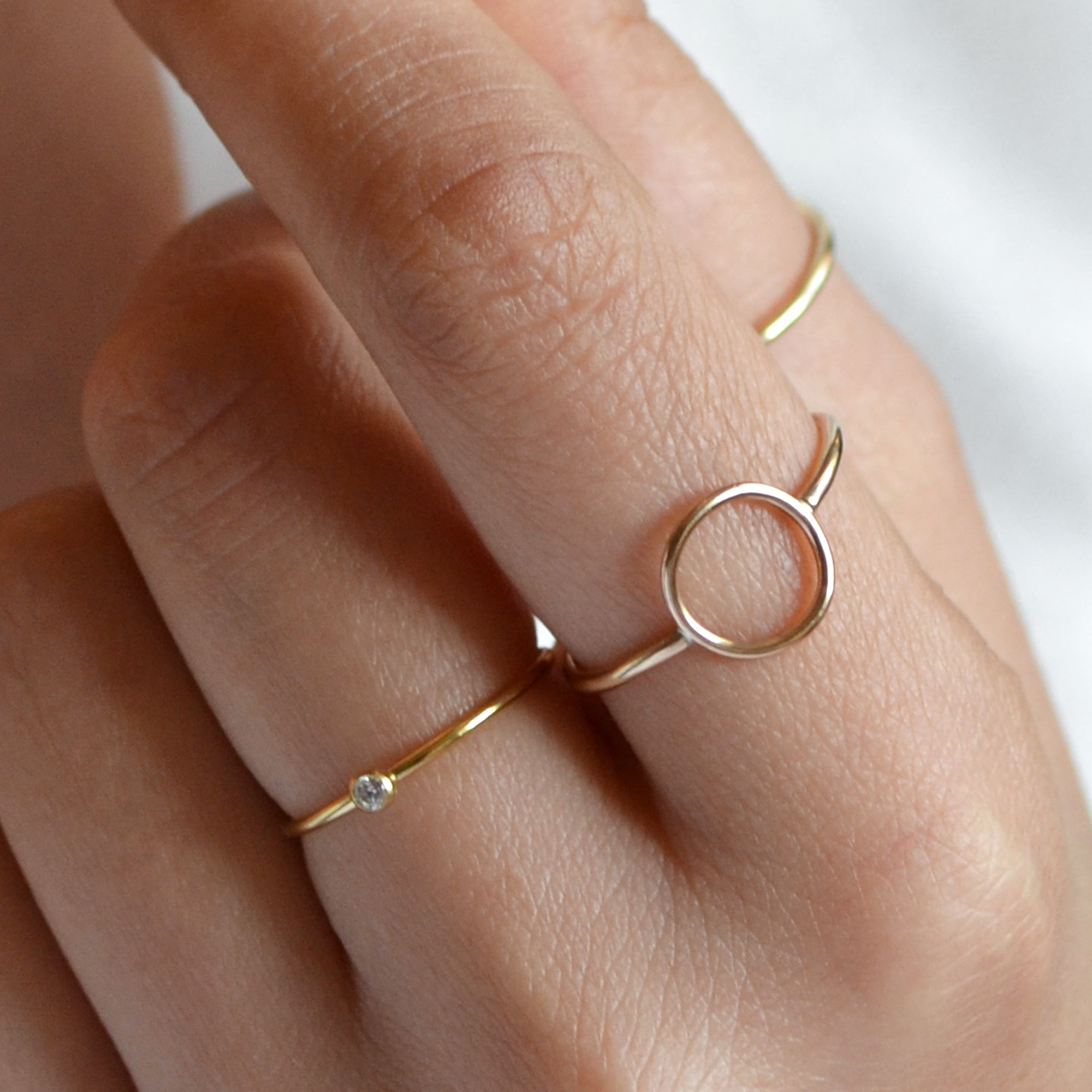 VOGUE Karma Circle Ring