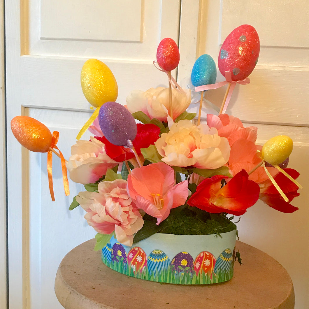 Easter Egg Box Arrangements - She Shed Home Decor