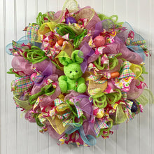 "Easter and Spring Wreaths, 26"" Poofy Style"