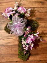 Easter Moss Cross - She Shed Home Decor