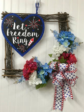 Americana/Patriotic Wreath, Grapevine