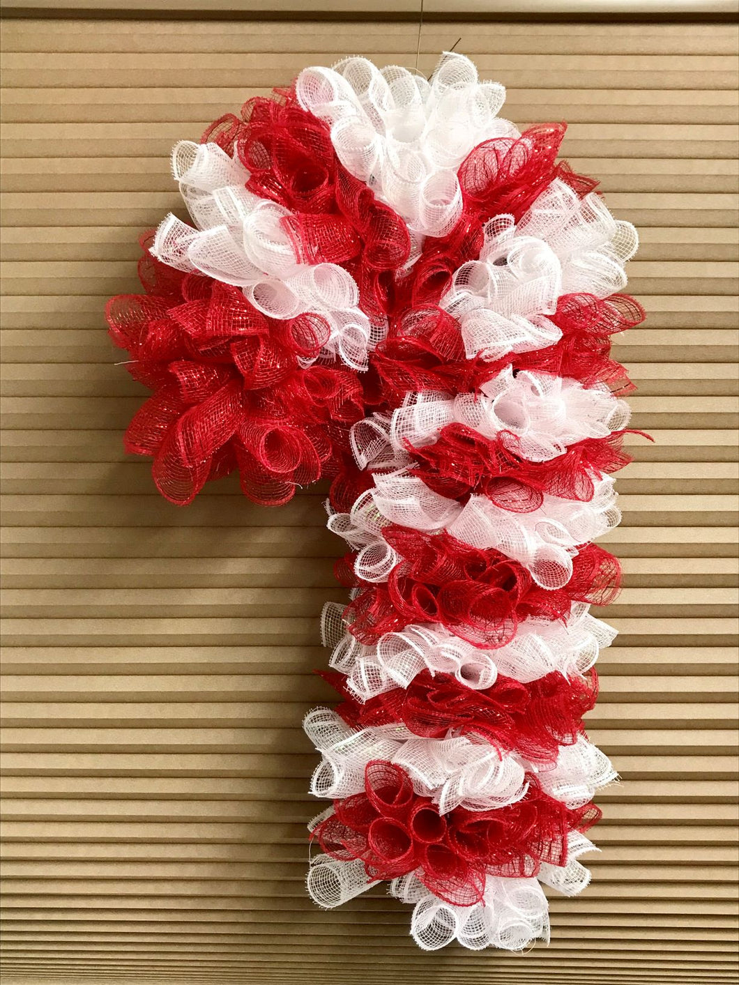 Christmas Wreath, Candy Cane