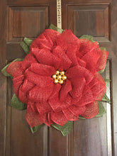 Christmas Wreath, Poinsettia