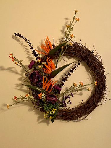 Grapevine Custom Wreath