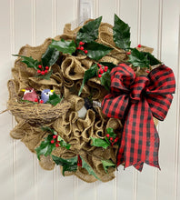 Christmas Wreath, Burlap