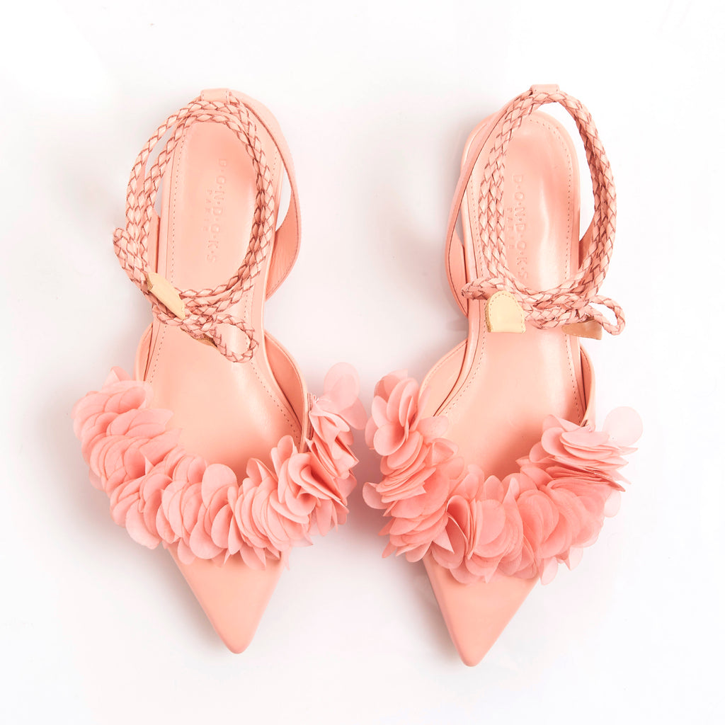 FRIDA NUDE Leather handmade sandals