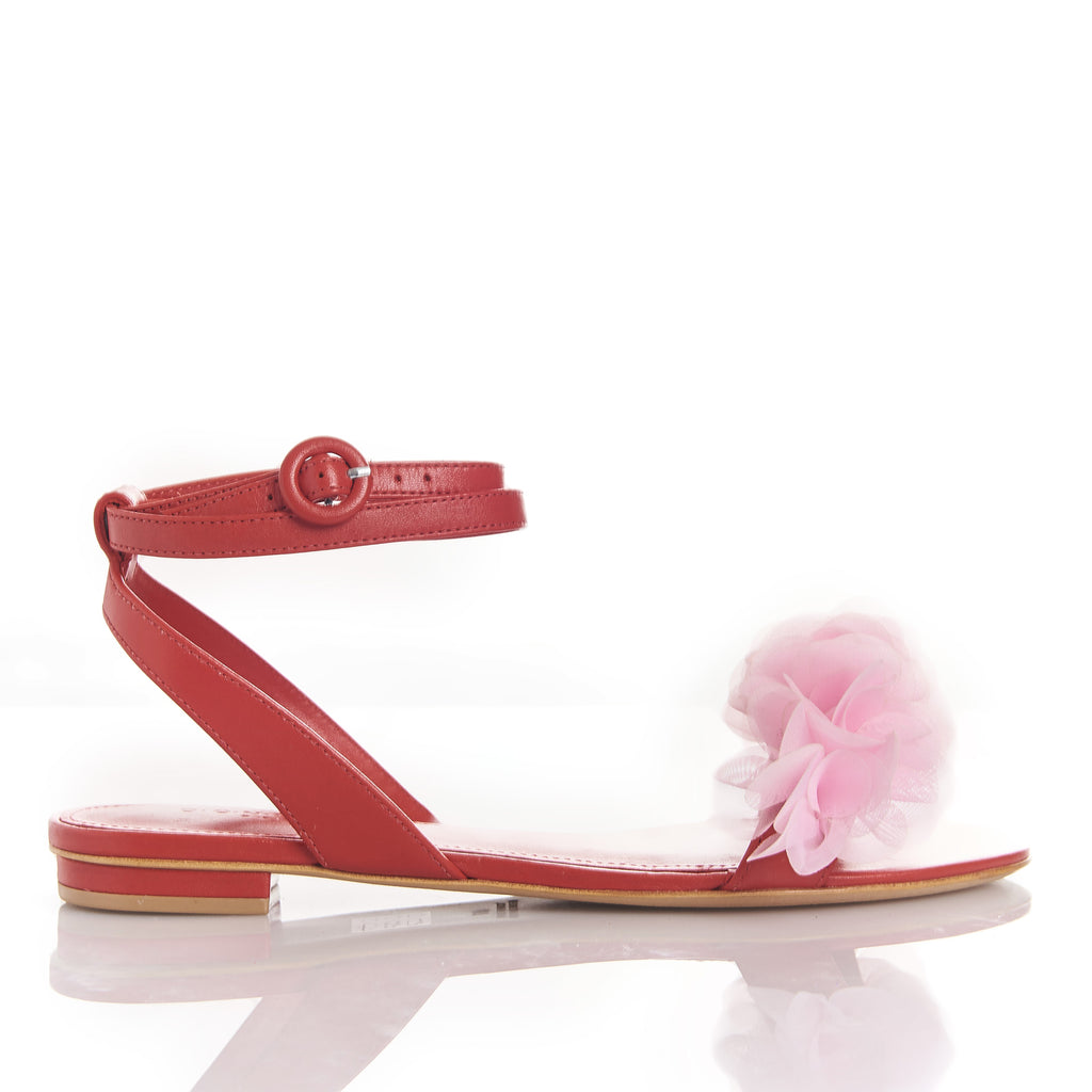 JAJA RED/FLAMINGO -Sandals