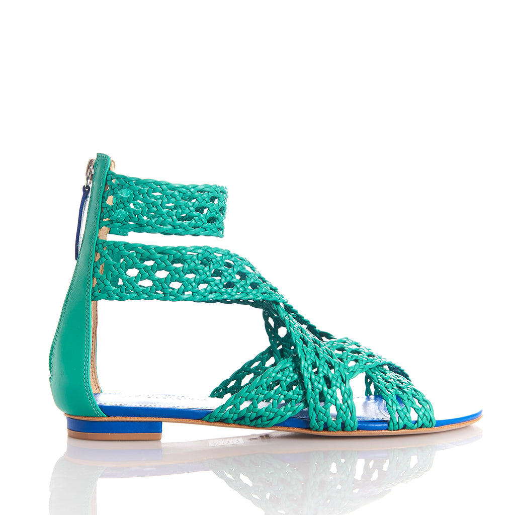 MELY BLUE/ESMERALD - Sandals