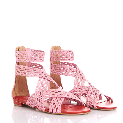 MELY RED/FLAMINGO - Sandals