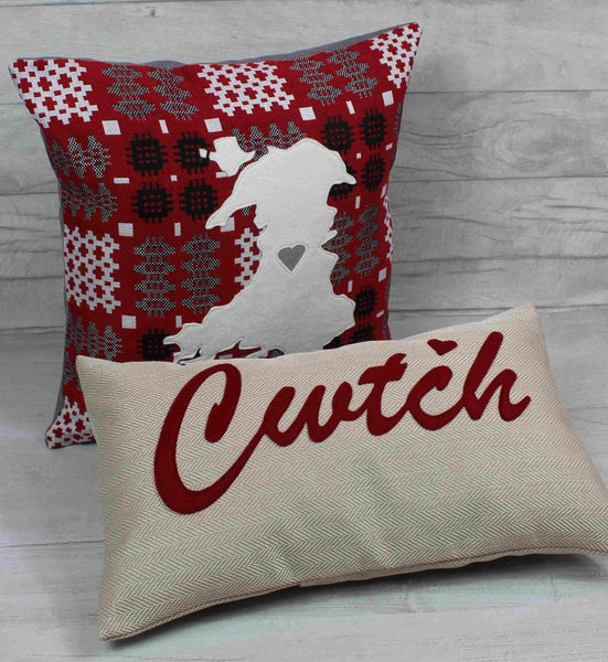 Cwtch Cushion / Cwtsh Cushion