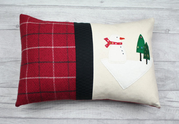 Christmas Cushion, Christmas Pillow, Christmas Angel Cushion, Tartan Cushion, Fairy Cushion