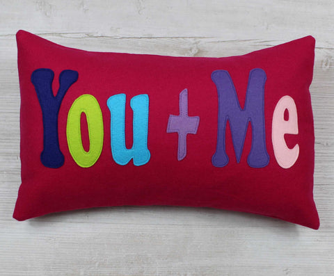 You and Me Cushion