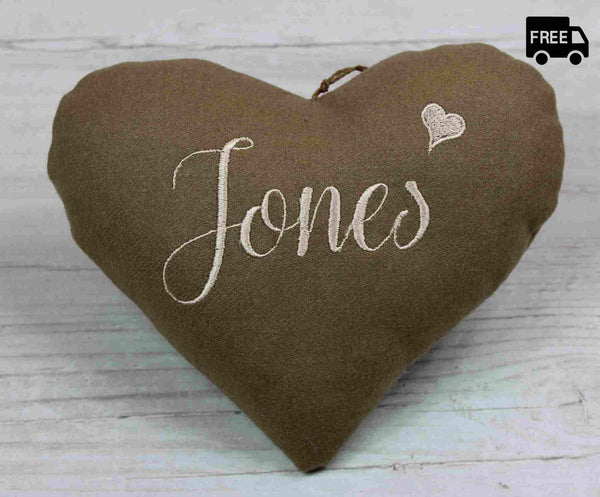 Jones Heart, Family Name / Surname Heart