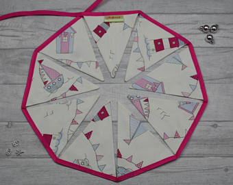 Maritime Bunting Pink