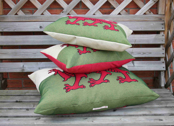 Welsh Flag Cushion