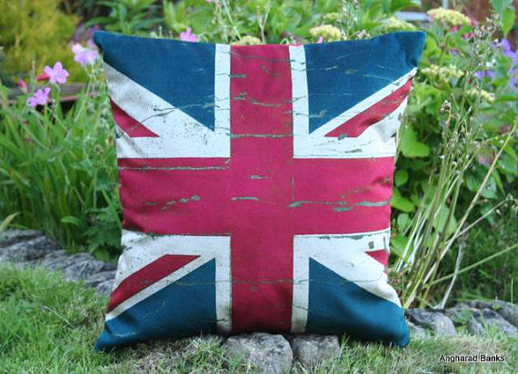 British Flag Cushion