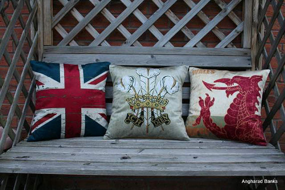 Union Jack Flag Cushion