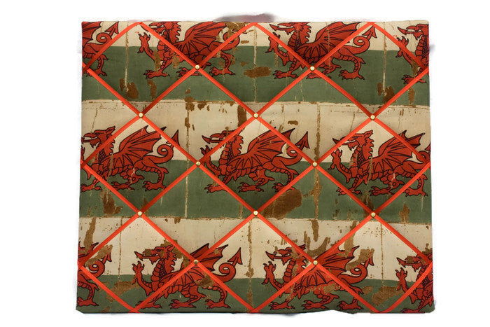 Welsh Dragon Memo Board