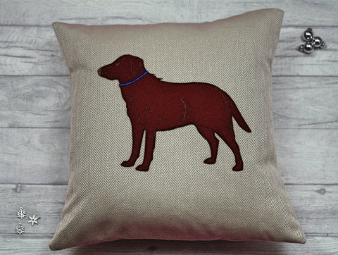 Labrador Cushion /  Dog Lover's Gift