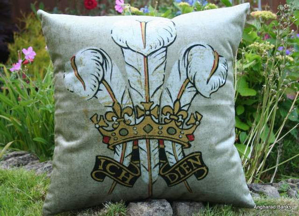 Prince of Wales Cushion